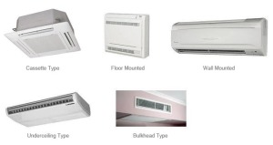 types of air conditioning units - Air Conditioning Units