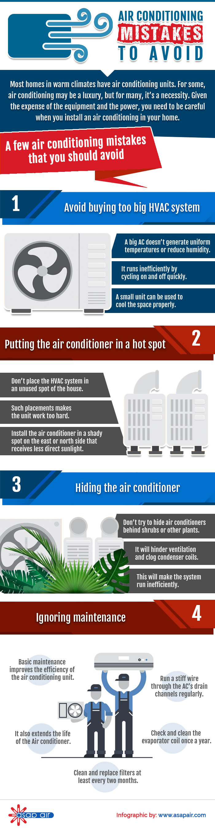 Air Conditioning Mistakes To Avoid
